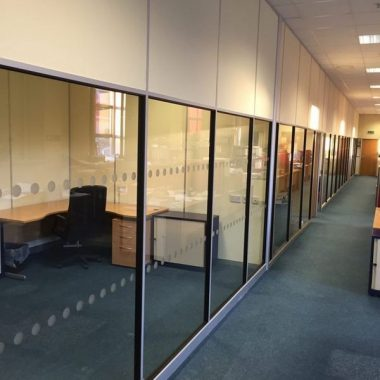 Numerous office and meeting rooms.