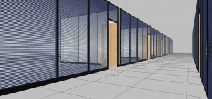 How can you use office partitioning to improve company productivity?