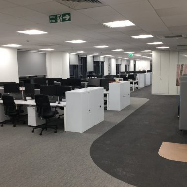 Refurbished office space in Newcastle