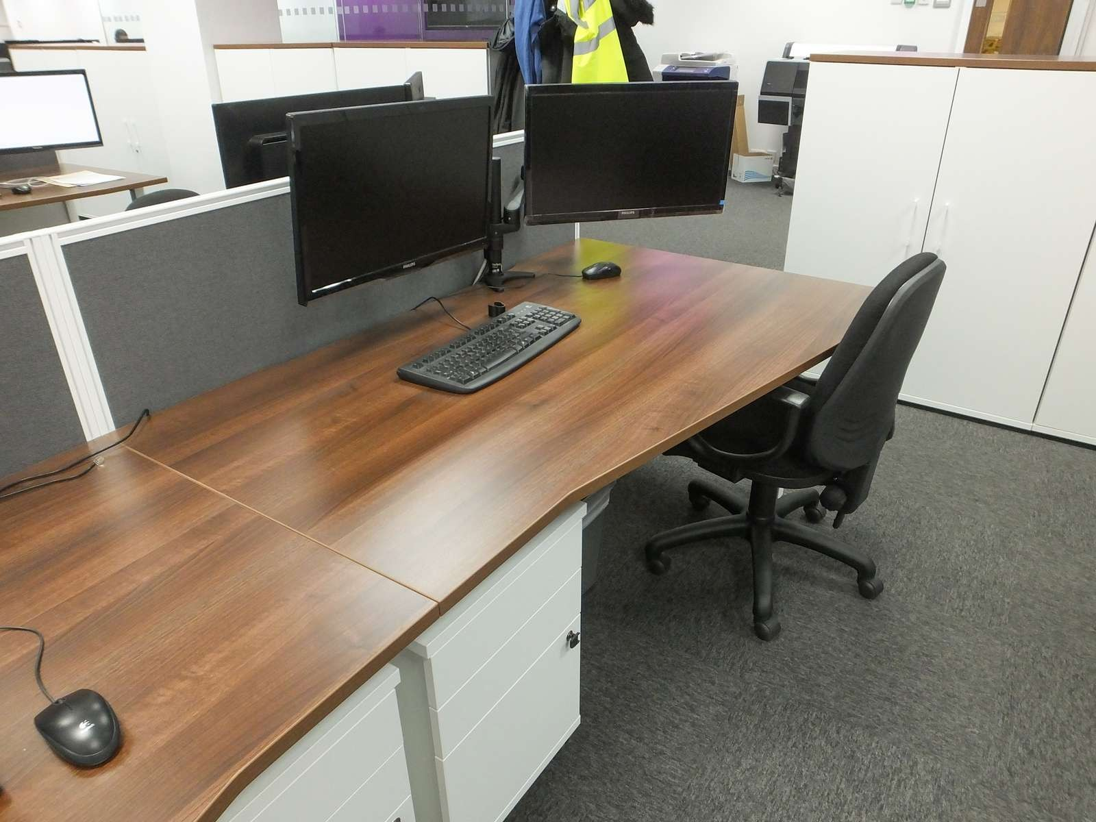 Office refurbishment with furniture for Office refurbishment