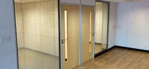 Three of the Best Advantages of Glass Office Partitions
