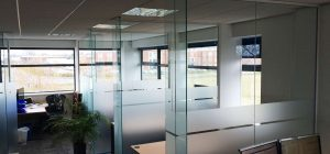 Frameless Glass Walls installed in York