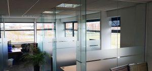Frameless Glass Walls installed in York