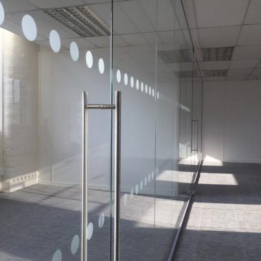 Glass screen in keighley