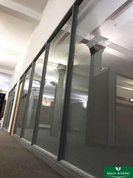 Glazed offices in Shipley