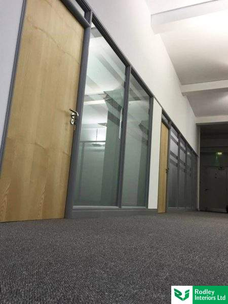 Office partitioning in a mill