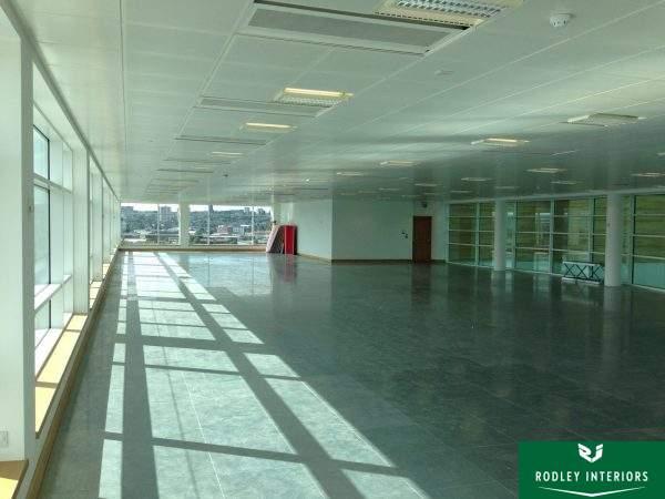 Open office area ready for refurbishment