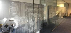 Frameless glass walls in wakefield