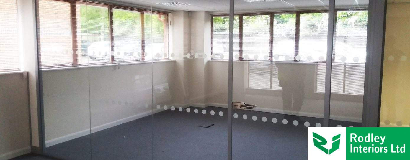 Repeat Frameless Glass Partitioning in Wetherby