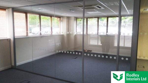 Glazed office in wetherby