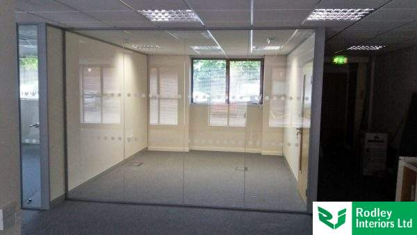 glass partitioning wetherby