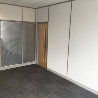 Double glazed partitions in Leeds