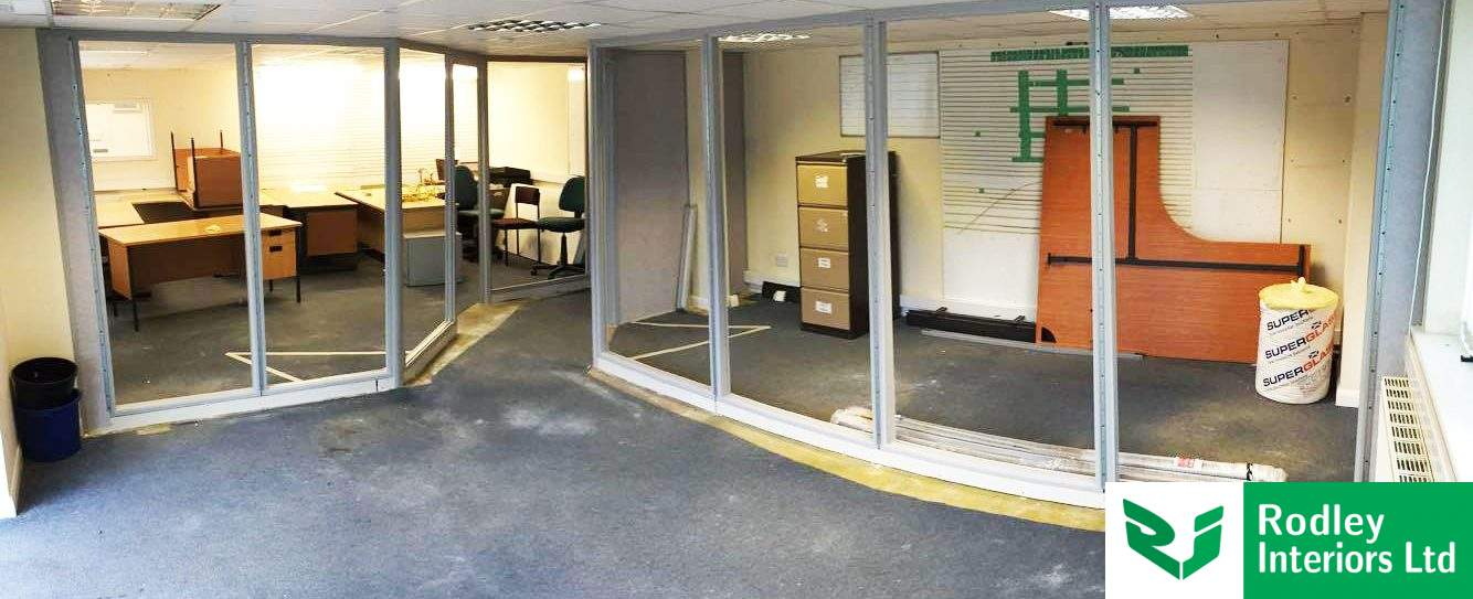 Recent Office Partitioning projects across Leeds
