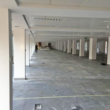 Spacious open plan manchester office