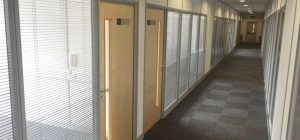Training room partitioning in Leeds