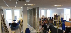 Rodley Interiors secure Birmingham office partitioning