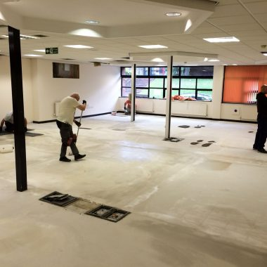New office refurbishment in West Yorkshire