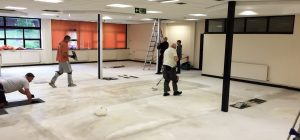 New offfice refurbishment project in West Yorkshire
