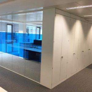 Office storage walls