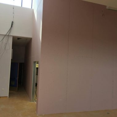 Jumbo partition wall