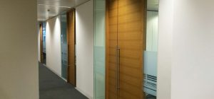 Bespoke office doors