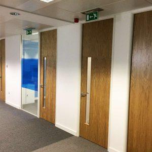 Full height office door sets in manchester