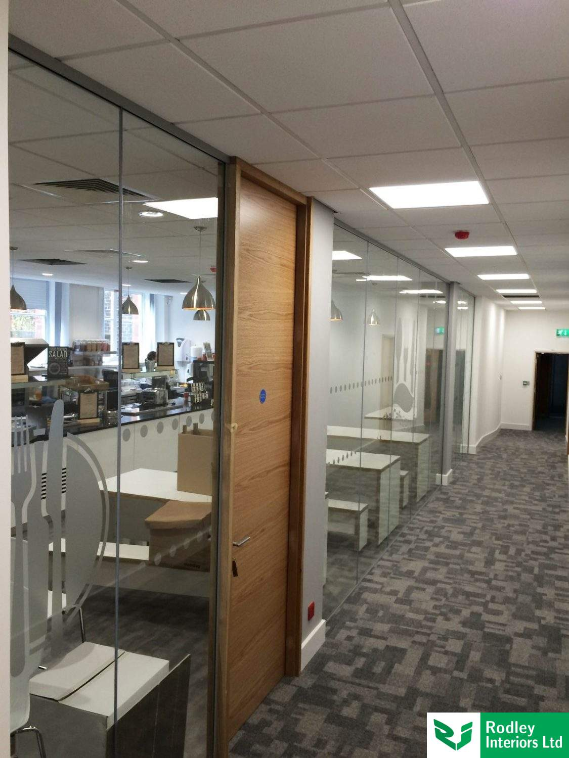 Fire Rated Frameless Glass Partitioning Photos