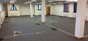 Works begin on large Office Relocation