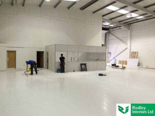 partitioning-a-warehouse-area