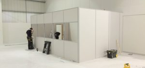 Partitioning a Warehouse Space