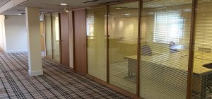 New Business Centre partitioning in West Yorkshire