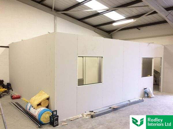 ongoing-warehouse-office-installation