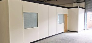 Case Study: Warehouse Office Partitions