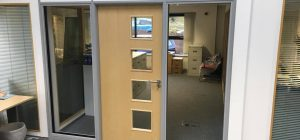 Soundproof office partitioning in Wakefield