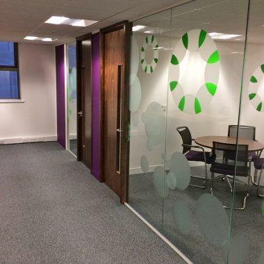 Yorkshire office refurbishment