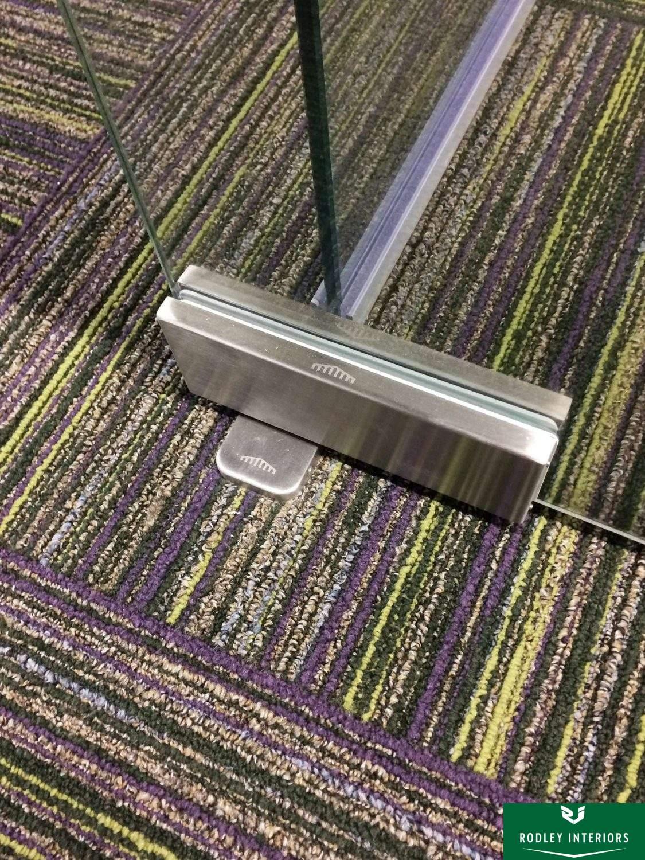 Frameless Glass Door Spring