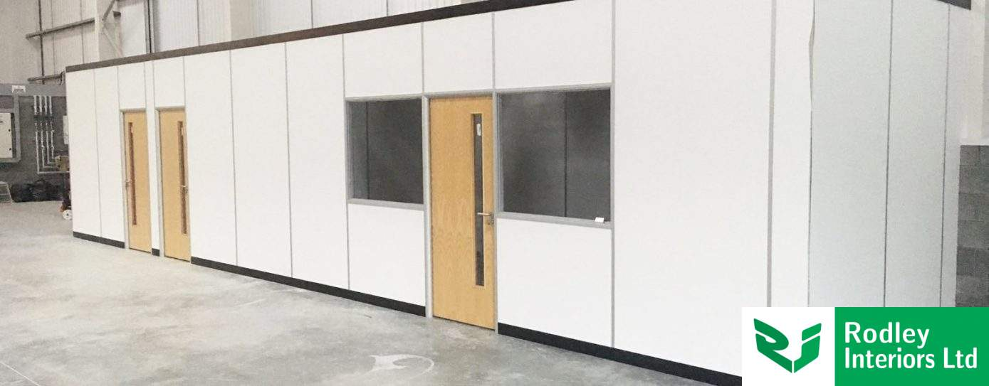 Warehouse Offices and Free-standing Partitioning