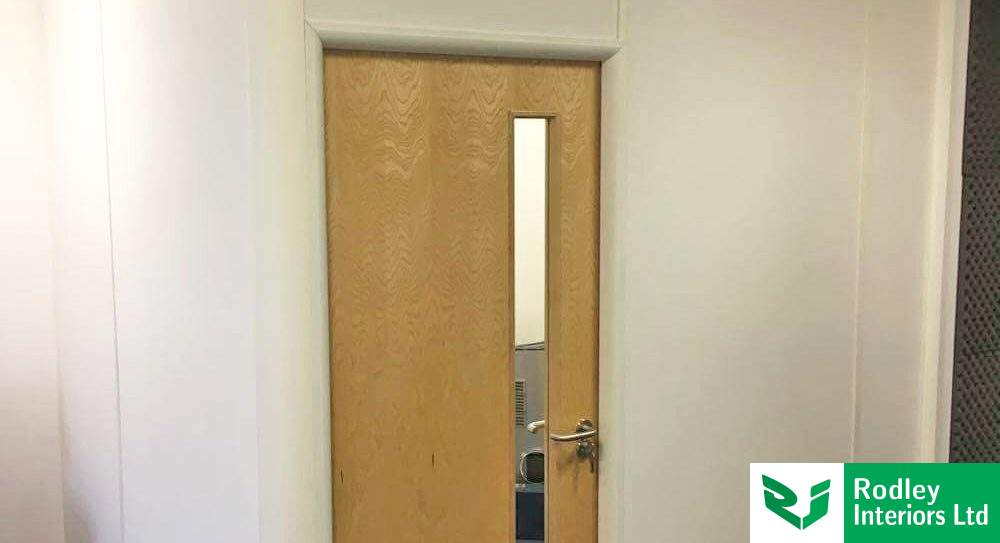 Small office partitioning project for Leeds radio bulletin company