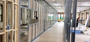 Soundproof office partitioning forms West Yorkshire classrooms