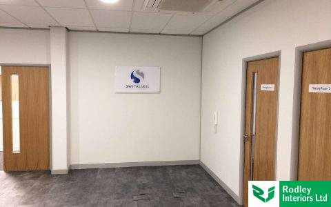 Office refurbishment in Doncaster