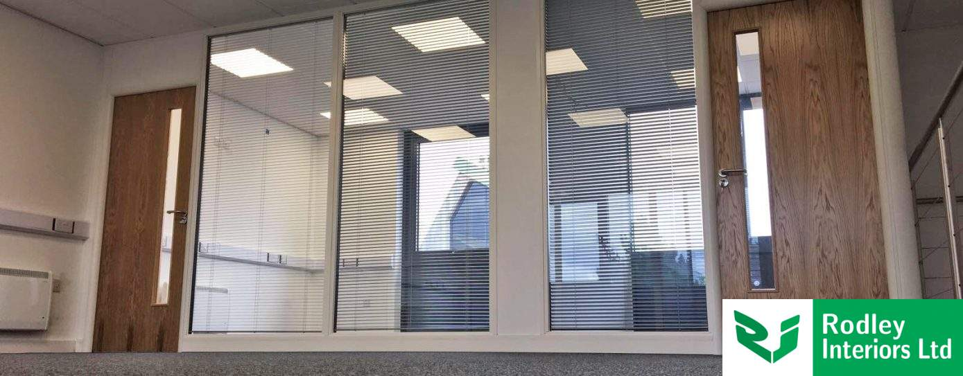 Double glazed partitioning system creates modern office suites