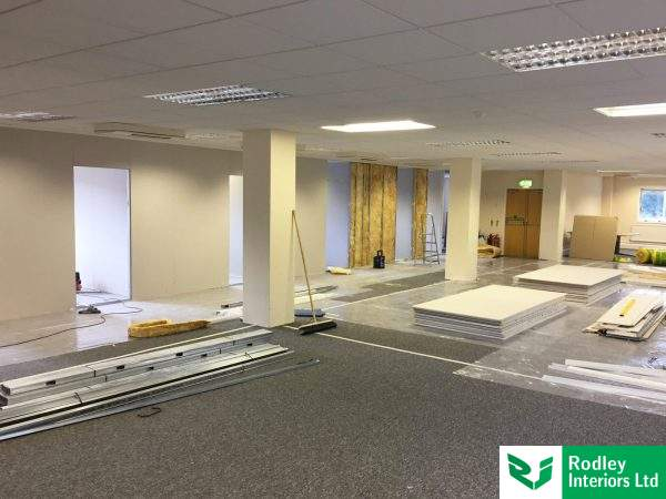 Office fit out in Leeds