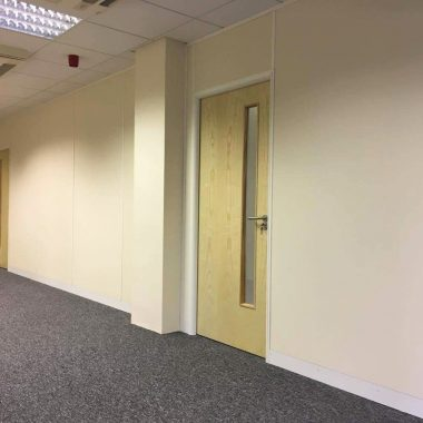 Leeds Soundprood partitioning