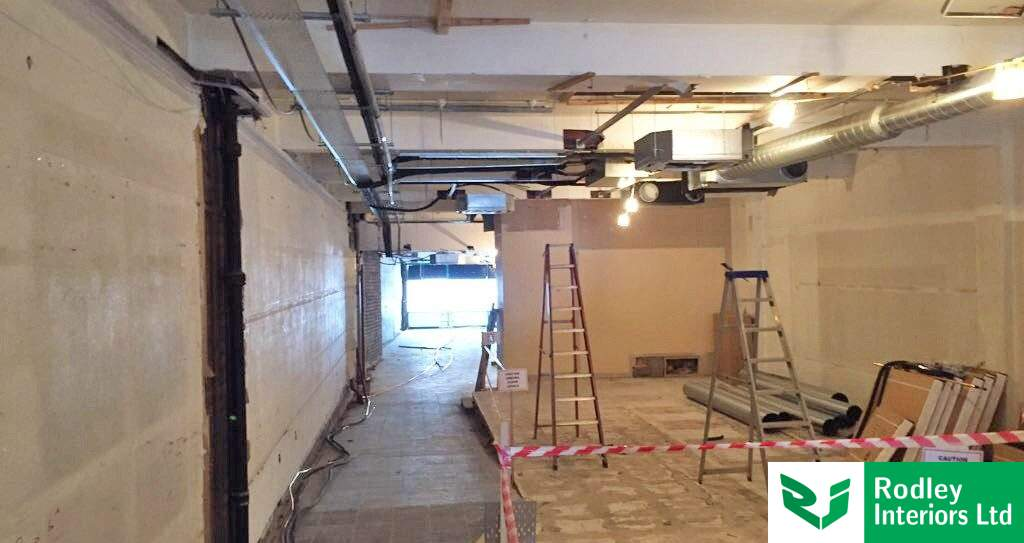 Refurbishment works commence to Yorkshire retail space