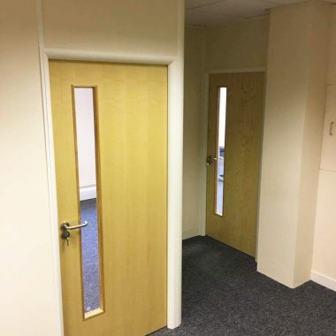 Leeds soundprrof partitioning