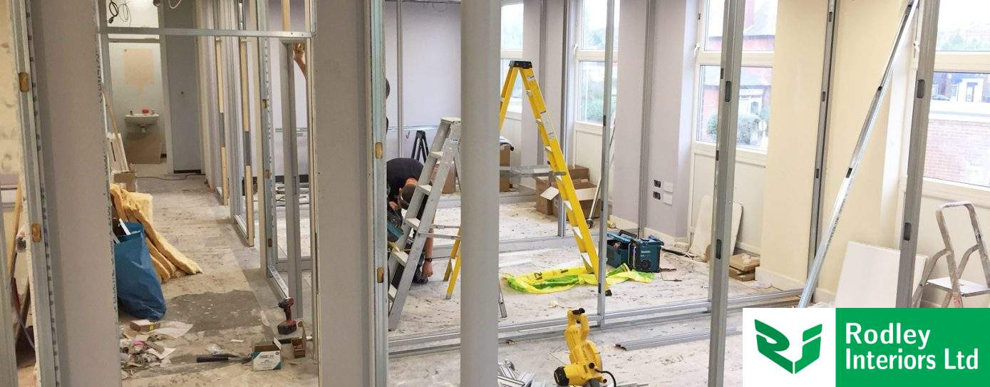 Wakefield partitioning works begin in old fire station
