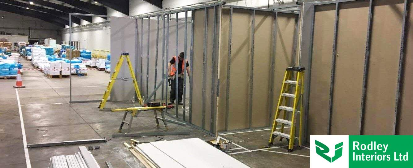 Warehouse partitioning works begin for Bradford fine food supplier