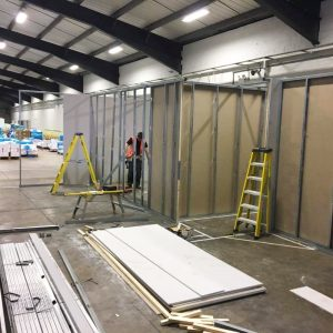 Warehouse partitioning in Bradford