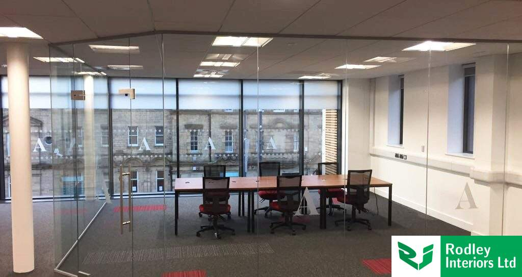 Case Study: Frameless glass partitions