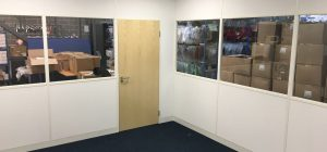 Cost-effective warehouse partitioning in Bradford